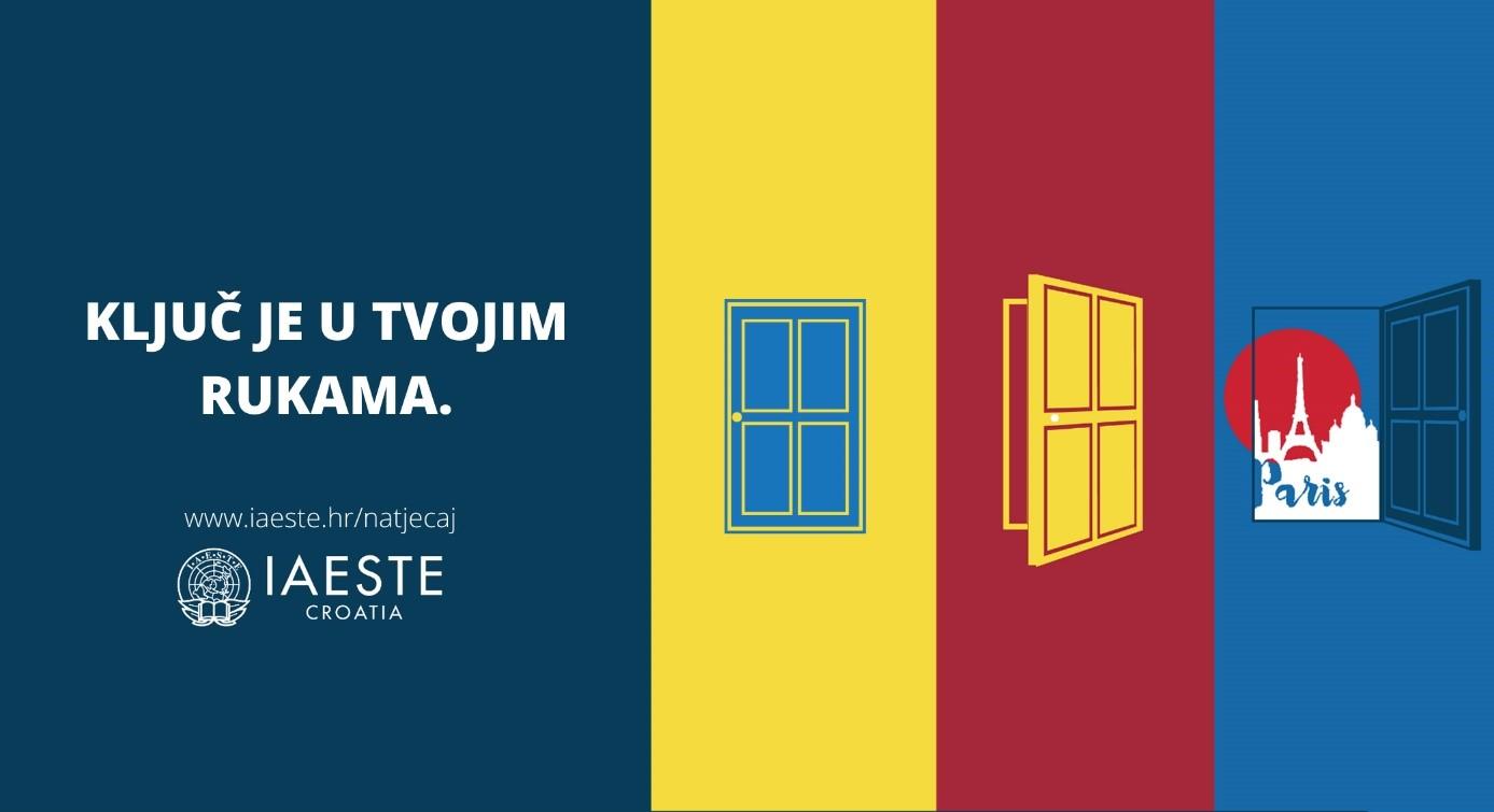Natječaj za plaćenu stručnu praksu u inozemstvu - IAESTE