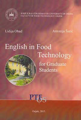 English in food technology for graduate students