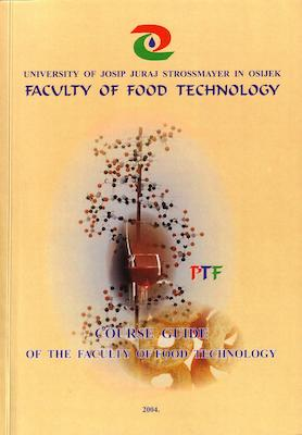 Course guide of the Faculty of Food Technology