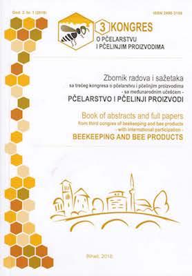 Zbornik radova i sažetaka sa trećeg kongresa o pčelarstvu i pčelinjim proizvodima